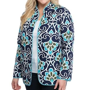 NWT Alfred dunner reversible s20 jacket